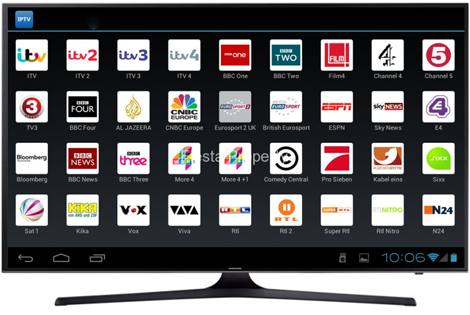 IPTV apk on TV